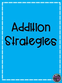 Addition Strategies Freebie!