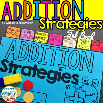 Addition Strategies Tab Book