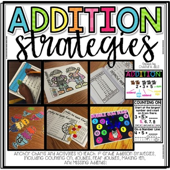 Addition Strategies Unit {1st Grade}