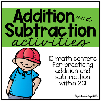Addition & Subtraction Centers