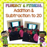 Addition & Subtraction Math Facts Fluency & Fitness Bundle