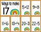 Math Fact Fluency April (11 to 20)