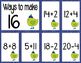 Math Fact Fluency for January (11 to 20)