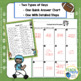 Addition Subtraction Football Themed Task Cards (Common Core)
