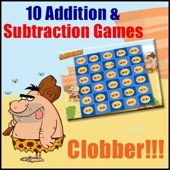 Addition Games & Subtraction Games in One - Clobber is Per