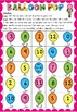 Addition & Subtraction Game - Balloon Pop