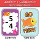 Addition & Subtraction Go Fish Games Bundle