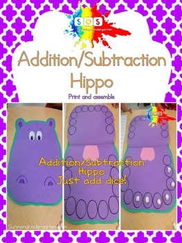 Addition & Subtraction Hippo