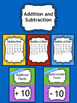 Addition and Subtraction Fact Fluency Bundle 1st Grade 2nd