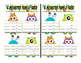 Addition/Subtraction Monster themed Fact Family Game