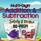 Addition & Subtraction Solve & Draw Activities BUNDLE