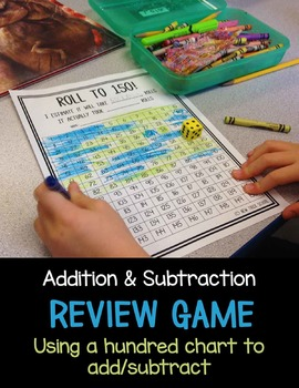 Addition & Subtraction Review Game/Center Activity [Common Core]