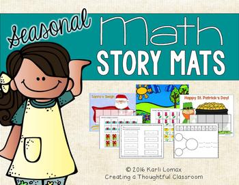 Addition & Subtraction SEASONAL Math Mats