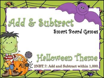 Addition & Subtraction Smart Board Lesson/Games!!