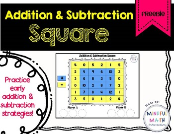 Addition & Subtraction Square