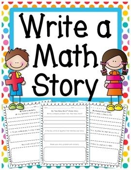 Addition & Subtraction: Write a Word Problem Worksheet