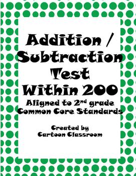 Addition Subtraction Unit Test