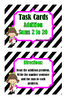 Addition Sums 2 to 12 Task Cards