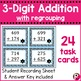 Addition Task Cards Bundle... With and Without Regrouping
