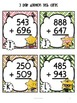 Addition Task Cards for Scoot Game and Centers {2, 3 and 4