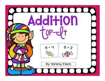 Addition Top-It Game {Fact Practice}