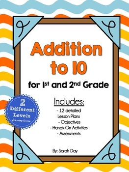 Addition Unit for 1st and 2nd Grade