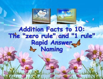Addition Video/Smartboard viewable - sums to 10 for oral r