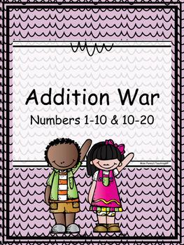 Addition War (1-10 & 10-20)
