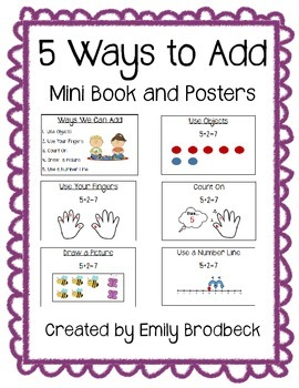 Addition- 5 Ways to Add Book and Posters