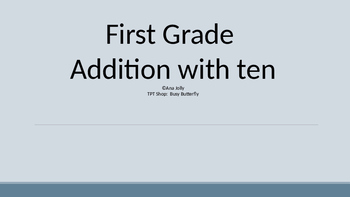 Addition With TEN