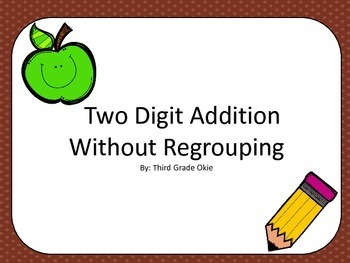 Addition Without Regrouping Scoot