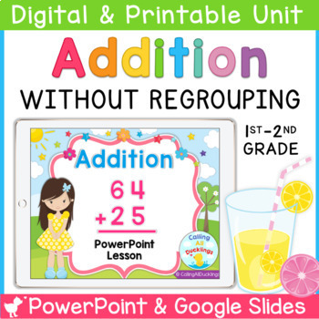 Addition Without Regrouping Smartboard