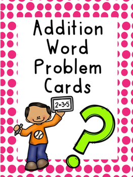 Addition Word Problem Cards