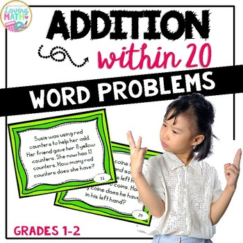 Addition Within 20 -Word Problems