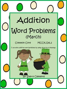 March Addition Word Problems
