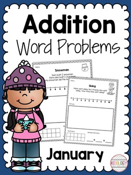 Winter Addition Word Problems