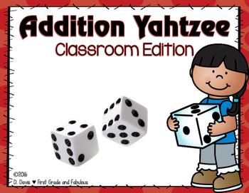 Addition Yahtzee