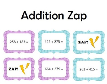 Addition Zap