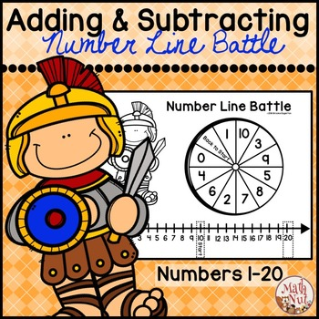 Adding and Subtracting Numbers through 20 using a Number Line