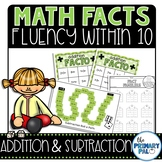 Addition and Subtraction Basic Facts Practice: 6-10 edition