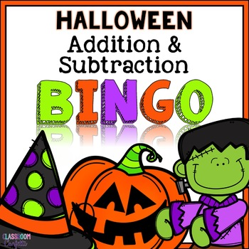 Halloween Bingo {Addition and Subtraction within 10}