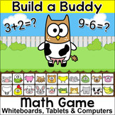 Addition and Subtraction Math Facts Review Game