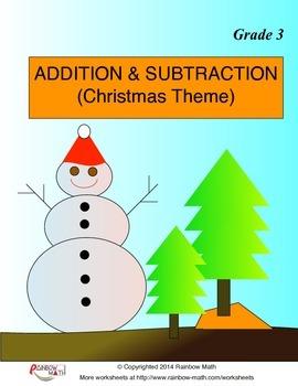 Addition and Subtraction (Christmas Theme)