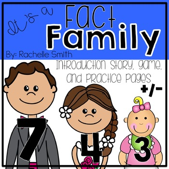 Addition and Subtraction Fact Families {Intro and Practice}