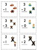 Addition and Subtraction Flashcards within Five ~ Full Pic