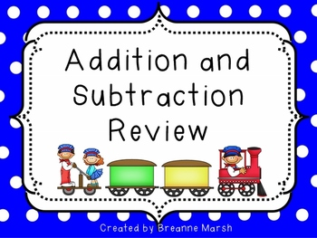 Addition and Subtraction Interactive Whiteboard Activity