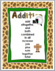 Math Key Words - Addition and Subtraction - Jungle Theme