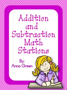 Addition and Subtraction Math Stations