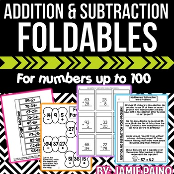Addition and Subtraction- Mini Packet