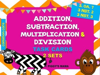 Addition and Subtraction, Multiplication and Division Task